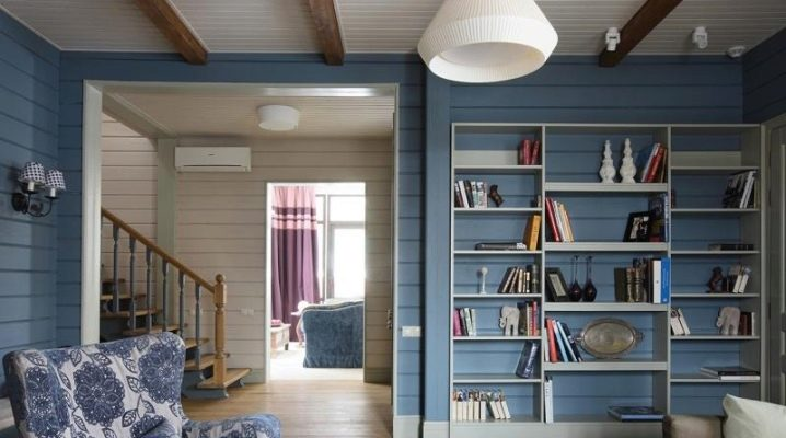 Живопис вътре в къщата в различни цветове: оригинални идеи