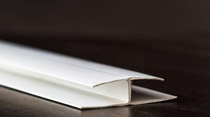 Profilok PVC panelekhez: variációk és jellemzők