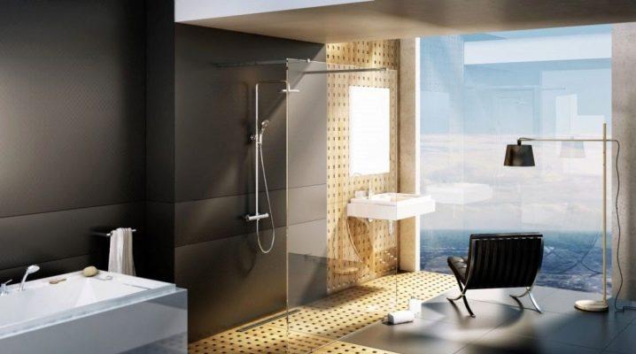 Varianter av duschställ med mixer och dusch