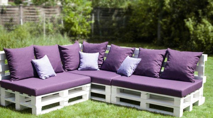 Muebles de jardín de palets: ¿qué se puede hacer con palets de madera?