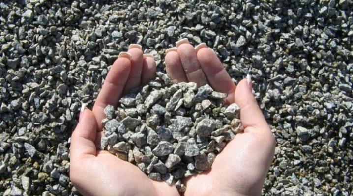 Mélange pierre-sable: description et application