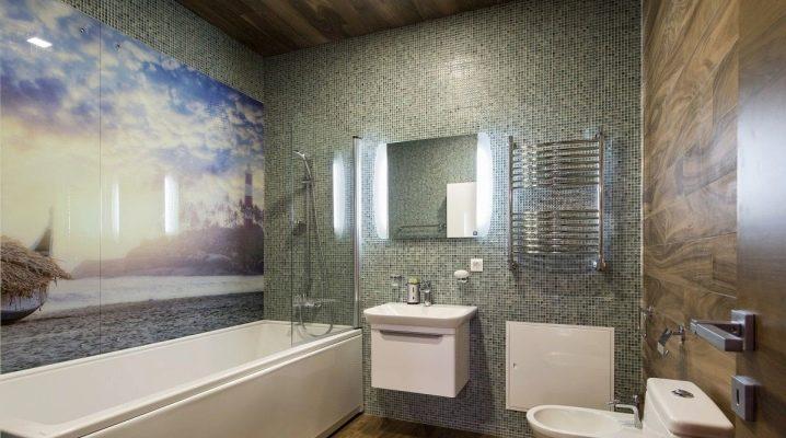 PVC väggpaneler i badrummet