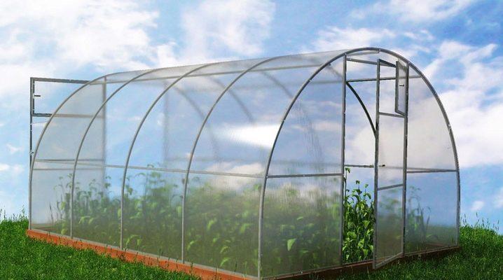 Växthusutbyte: beskrivning och monteringsanvisningar