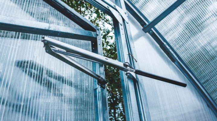 Thermal drive for greenhouses: features and benefits of operation