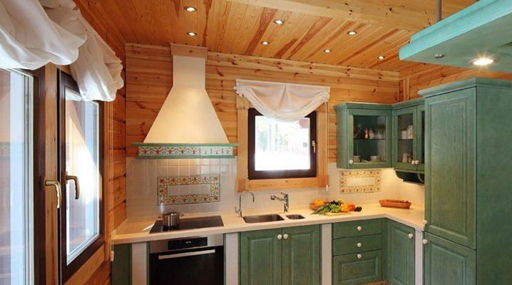 Foder köket: exempel på design och dekoration
