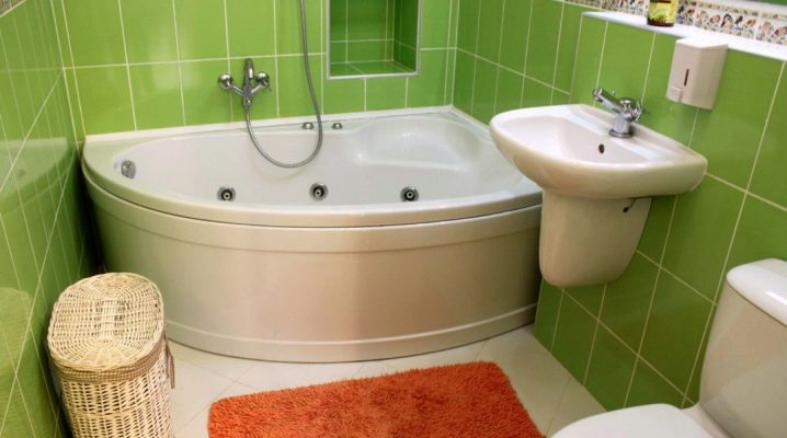 How to plan the interior of the bathroom, combined with the toilet?
