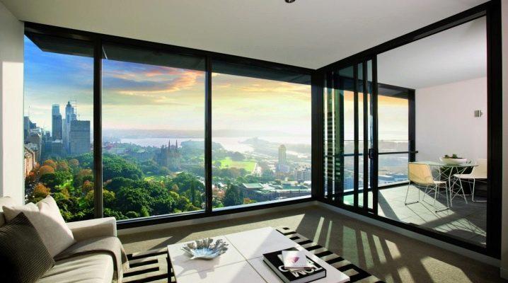 Appartements avec fenêtres panoramiques: logements du 21ème siècle