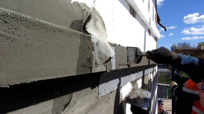 Populära sätt att installera en våt fasad