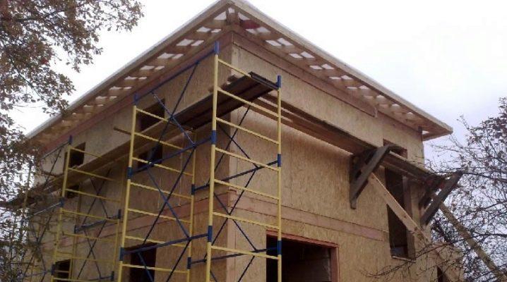 Sottigliezze del processo di finitura della facciata della casa con pannelli SIP