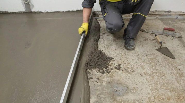Vetonit 5000: Egenskaper hos en snabbhärdande golvmätare