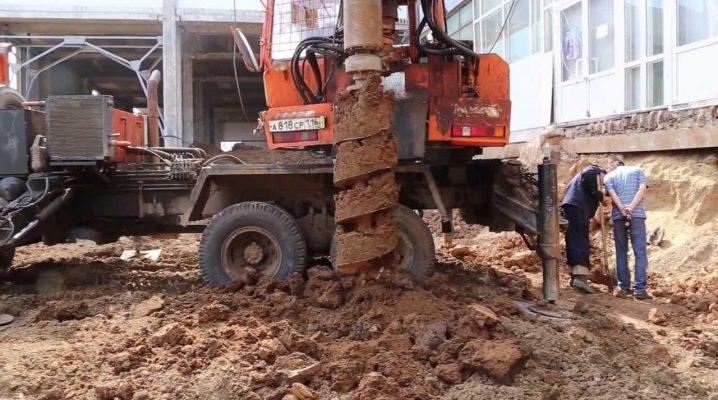 Foratura su palo: tecnologia di costruzione