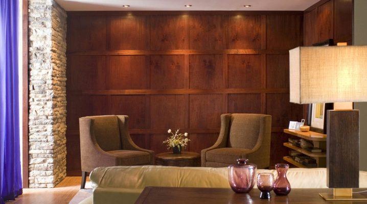 आंतरिक दीवारों के लिए लकड़ी के पैनल: डिजाइन के लिए विचार