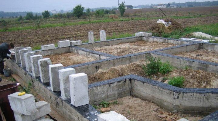 Le fondamenta per una casa di calcestruzzo aerato: come scegliere e costruire?