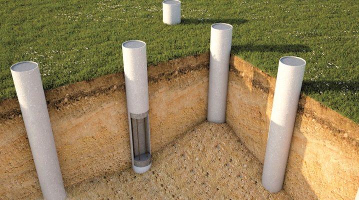 Come fare una fondazione di tubi di cemento amianto?