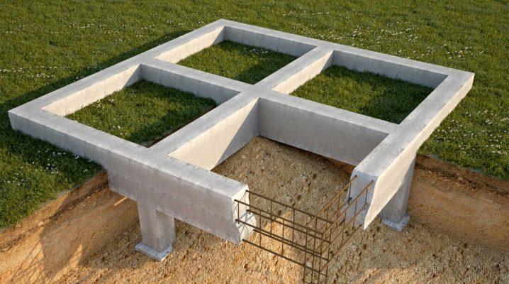 Ribbon Foundation: funktioner och stadier av konstruktion