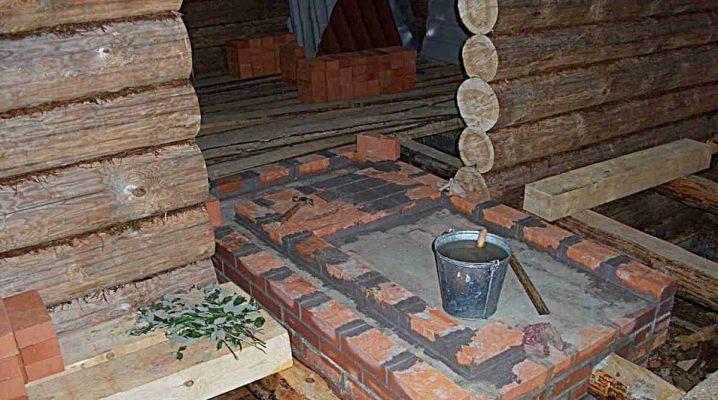 Il processo di fare le basi per la fornace
