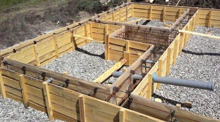Изграждане на фондацията: стъпка-по-стъпка инструкции за вземане на собствените си ръце