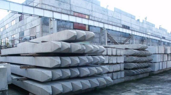 Förstärkta betongpinnar: tekniska specifikationer och installationsanvisningar