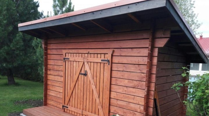 How to build a shed with a lean-to roof with your own hands?