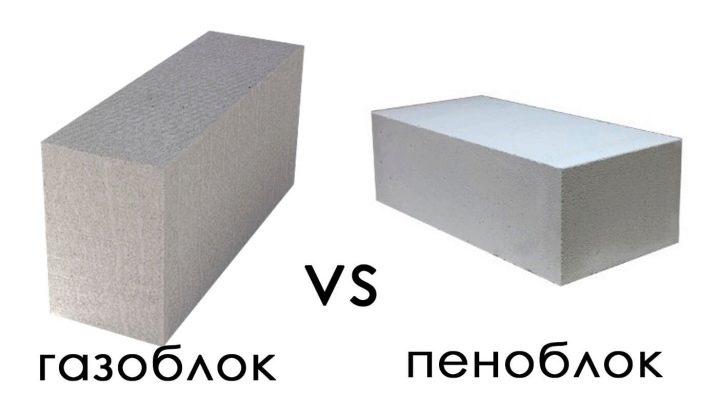 Gas-block eller skum-block: Vad är skillnaden och vad är bättre?