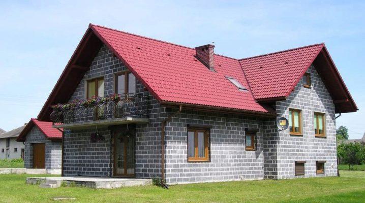 Hur man bygger ett hus av spärrblock?