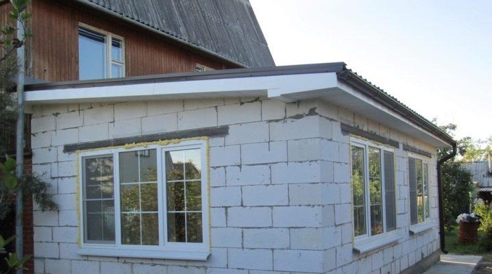 Come fare un'estensione dei blocchi di schiuma alla casa?