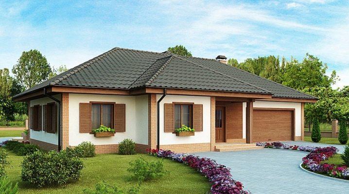 Pianificazione e costruzione di una casa a un piano di blocchi di schiuma