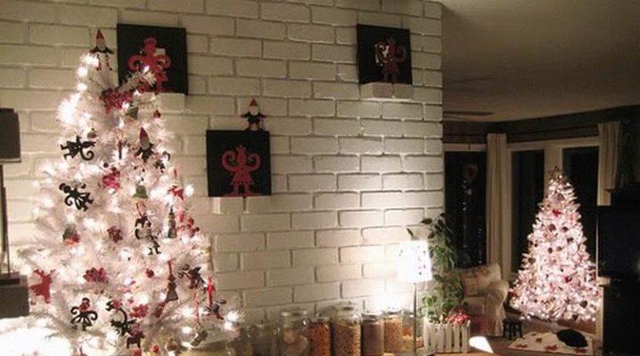 सफेद कृत्रिम क्रिसमस का पेड़: कैसे चुनें और सजाने के लिए?