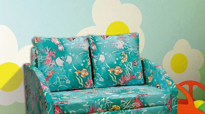 Children's sofa accordion: features, design and tips for choosing