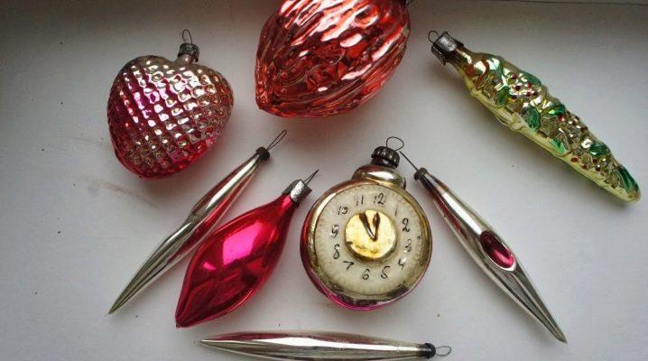 ของเล่นคริสต์มาสตั้งแต่สหภาพโซเวียต: ประเภทและลักษณะ