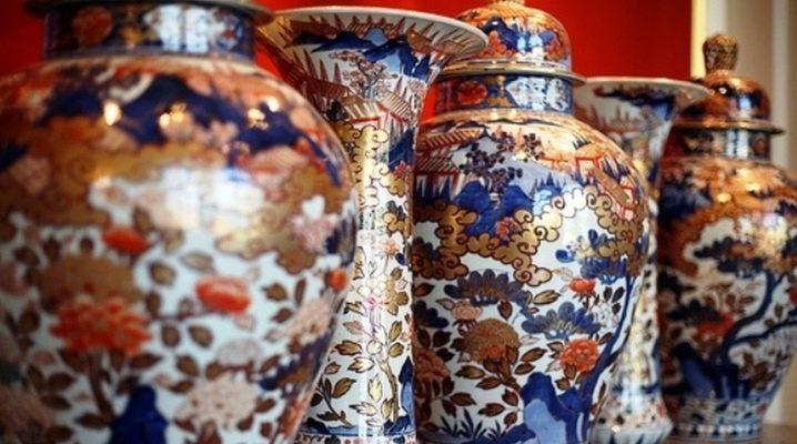 Vases en porcelaine: types, design et utilisation à l'intérieur