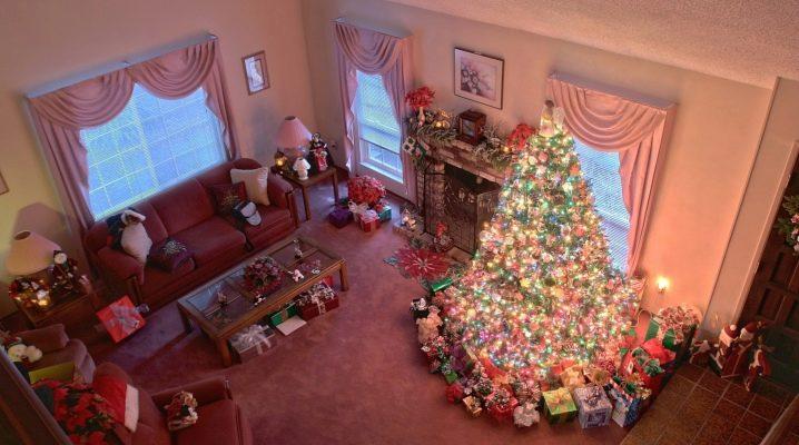 Hur man dekorerar huset för det nya året?