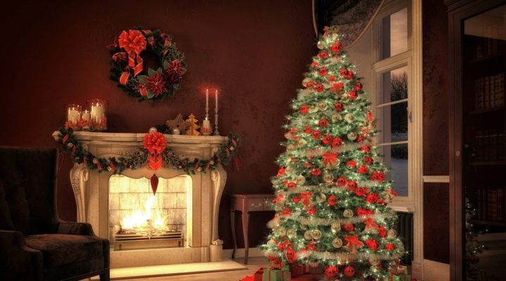 How to decorate a Christmas tree for the New Year?