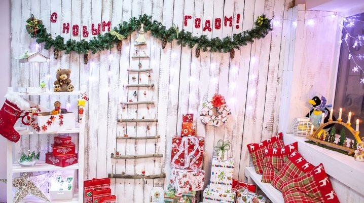 Коледна украса у дома направете го сами