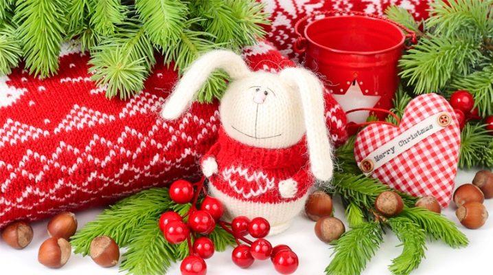 Juldekorationer: material, design och originella idéer