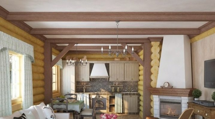 Features of the kitchen-living room planning in the country
