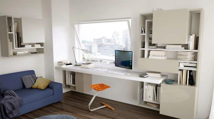 किशोरों के लिए आधुनिक शैली में Desks