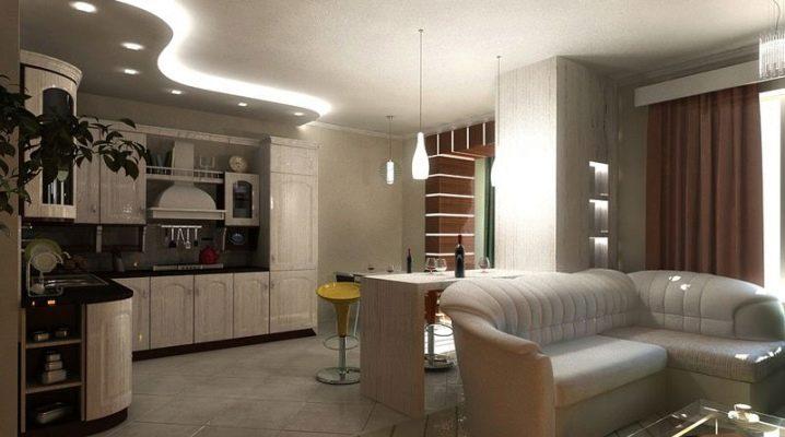 Köksdesignprojekt för kök: layouter och zoneringsalternativ