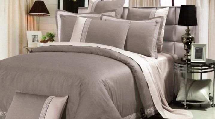 Lyxiga sängkläder: sorter och tips för att välja