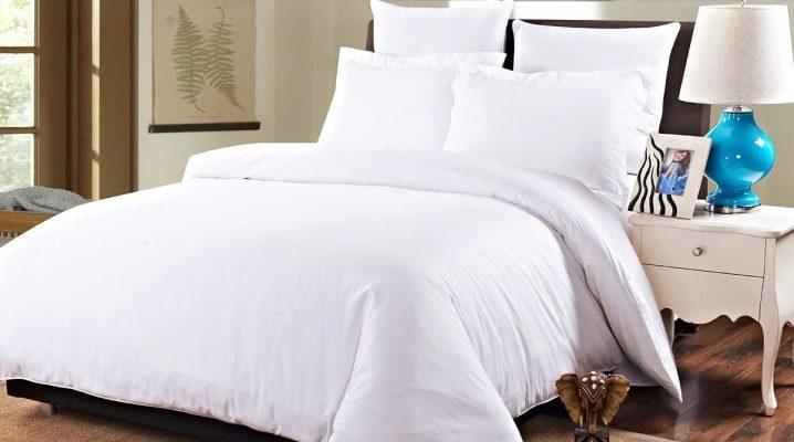 Como escolher roupa de cama branca?