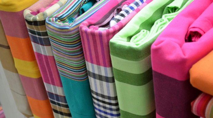 बिस्तर के लिए कपड़े की घनत्व कैसे चुनें?