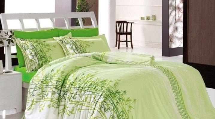 Características de cama de bambu