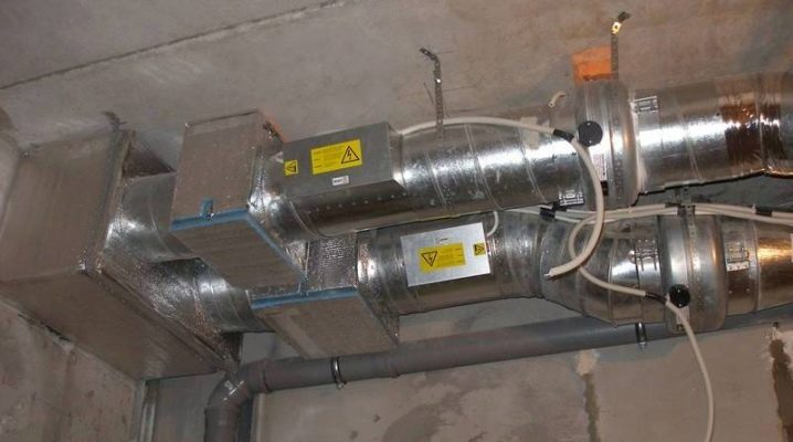 Air ventilation with air heating: features of the device and installation of the system