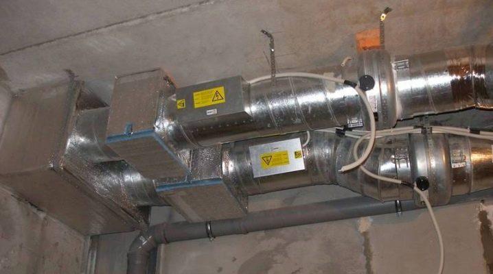 تهوية الهواء مع تسخين الهواء: ميزات الجهاز وتركيب النظام