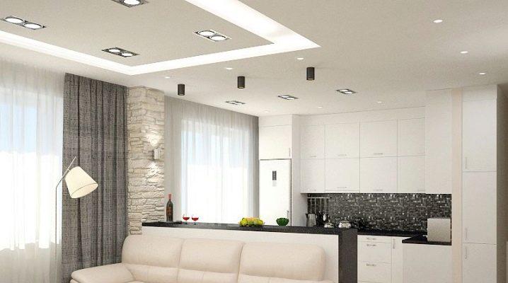 Varianter av inrednings kök-vardagsrum