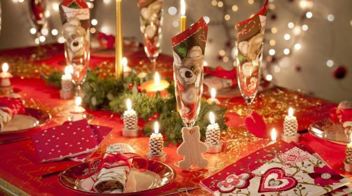 Selezione e progettazione di piatti di Capodanno