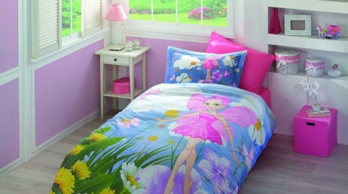 Features and characteristics of baby bedding from poplin
