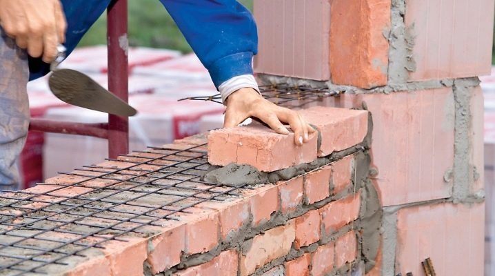 Ang bigat at dami ng brickwork
