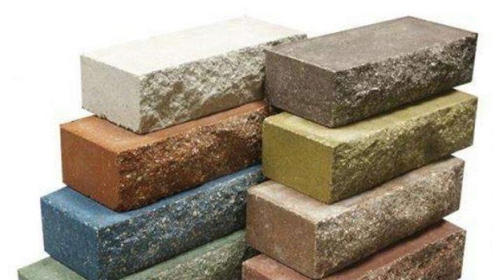 Facing brick weight 250x120x65