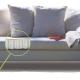 Canapés avec bloc à ressort